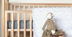 Etsy find of the day - sleep in stars and stripes! #Bedding, #Etsy, #Linen, #Nursery