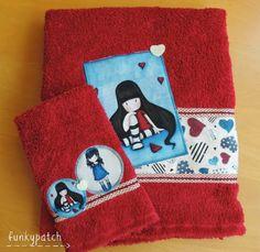 Tutorial con telas Gorjuss. 1ª parte: customizar una toalla. | Aprender manualidades es facilisimo.com
