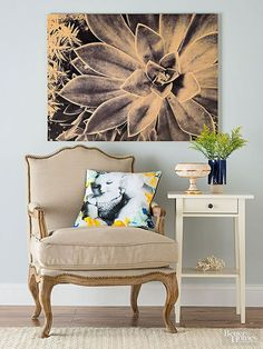 Using Instagram Photos to decorate your home.