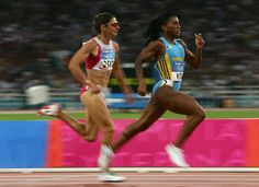 Tonique Williams-Darling - Athletics - Athens Olympics 2004 - Womens 400m
