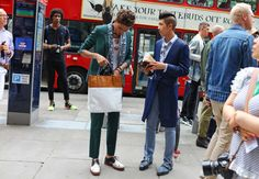 Phil Oh's Best Street Style Pics From London's Spring 2017 Men's Shows