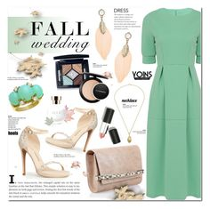 """Fall wedding - Yoins 5"" by cly88 ❤ liked on Polyvore featuring Jimmy Choo, Chinese Laundry, Christian Dior, Tiffany & Co., MAC Cosmetics and Sigma Beauty"
