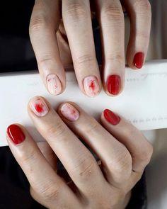 Nail art at its finest.