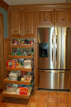 our pantries look similar to this.