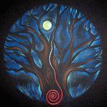 Moonlit Tree by CJ Shelton