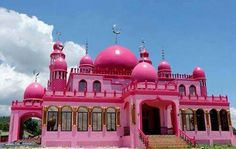 A pink mosque in Mindanao Philipines Travel and #save 50% on airfare with #AirConcierge.com