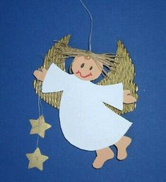 Crafts for many occasions from Bastel-tipps.de - Crafts for many occasions from Bastel-tipps. Homemade Christmas Decorations, Christmas Crafts For Kids To Make, Preschool Christmas, Christmas Activities, Christmas Printables, Preschool Crafts, Kids Christmas, Christmas Tree Ornaments, Papier Kind
