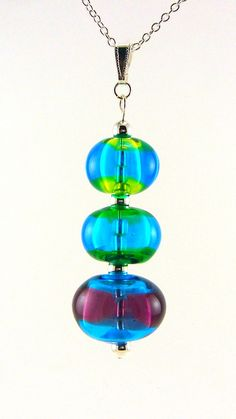 hollow bead lamp worked glass beads