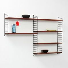 1000 images about string shelves on pinterest string. Black Bedroom Furniture Sets. Home Design Ideas