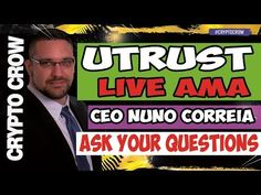 UTRUST Live AMA with Nuno Correia - Paypal Disrupter 😀👥 Crypto Currencies, Crow, Crying, Comic Books, Live, Raven, Crows, Cartoons, Comics