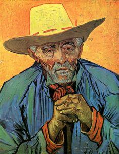 Vincent Van Gogh – Portrait of Patience Escalier, 1888