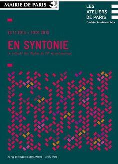 """Exposition """"En Syntonie"""" par le collectif des Pépites du 20ème arrondissement de Paris - du 28.11.2014 au 10.01.2015 www.ateliersdeparis.com"""