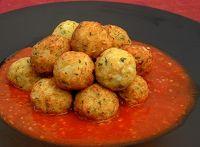 Kafta de Couve-Flor com Molho de Tomate (vegana)
