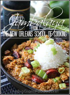 The Big Giant Food Basket: Cajun Vs. Creole Plus an Authentic Jambalaya Recipe
