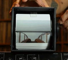This is a GIF of a Vine of a Video of a Flipbook of a GIF of a Video of a Roller Coaster  www.thisiscolossal.com
