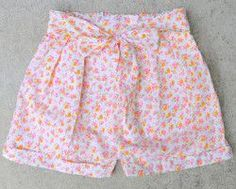 DIY Pleated Shorts | AllFreeSewing.com