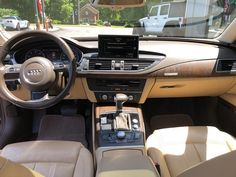 Should you like following the most recent happenings of the auto world, you will need to have seen a number of the rising developments on this sphere ... #Audi #CarInterior Audi A7 Interior, Interior Photo, Car Wallpapers, Car Wrap, Happenings, The Prestige, Modern Design, Number, Events