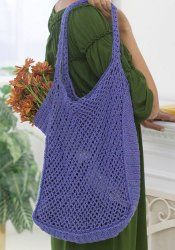Crochet Mesh Market Bag