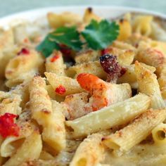 "Copy Cat recipe - ""Penne Rustica"" from Macaroni Grill !!!  Found it on the blog ""the-girl-who-ate-everything.com"""