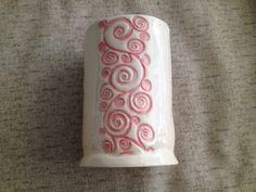 Pink Floral Vase