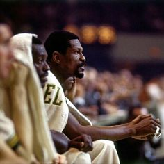 The Player, The Coach, The Champion, The Legend, Bill Russell Red Auerbach, Today In Black History, Chris Webber, Bill Russell, Pro Basketball, Boston Sports, Sports Images, Detroit Pistons, Digital Portrait