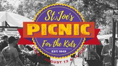 St. Joe's Picnic returns with in-person live music event St Joes, Raffle Prizes, August 13, Louisville Kentucky, Concert Tickets, Foster Care, Children And Family, Child Development, Kids House