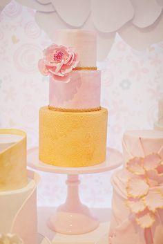 {Flower Inspired} Pretty Pastel First Birthday Party