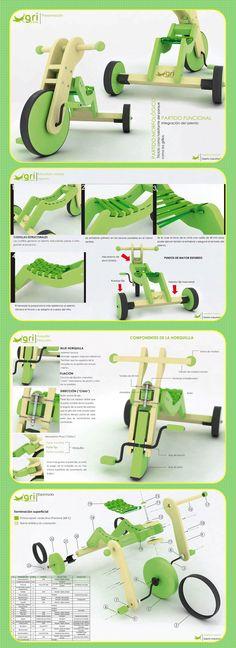 Gri-ciclo by Josefina Tarquini  *http://www.coroflot.com/josefinatarquini/Griciclo *https://es-es.facebook.com/media/set/?set=a.10150265123431580.330660.304562851579
