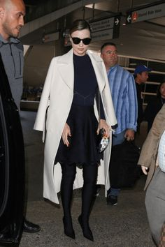 daiilycelebs: 4/5/17 Miranda Kerr at LAX Airport.