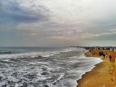 Beach in Chennai, Tamil Nadu