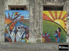 Street art from Uruguay