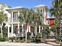 Seacrest Beach North Vacation Rental - VRBO 40725 - 4 BR Seacrest House in FL, Luxury 4 BR, 4.5 Bath Beach Home, Directly Across from Pool