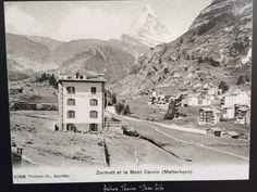 Parkhotel Beau Site Zermatt in olden times