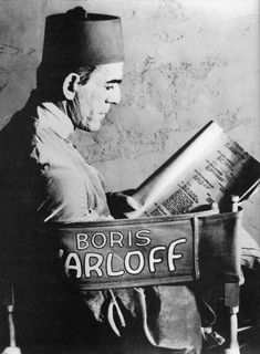 Boris Karloff reads The Mummy script