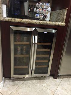 Just put in wine fridge