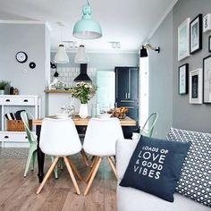 Decoracion de Sala-Comedor y Cocina en una Sola Habitacion (17)