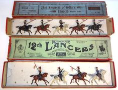 Lot 394 - Britains 12th and 21st Lancers