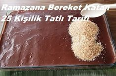 Ramazana Bereket Katan 25 Kişilik Tatlı Tarifi Iftar, Food, Recipes, Kuchen, Essen, Meals, Yemek, Eten