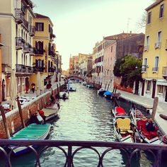 Ponte dell Accademia, Venice, Italy.    Photo by garypeppergirl