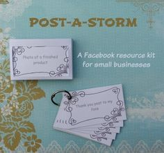 If you are a small business (especially a new one), chances are that you are struggling with what to post on your Facebook page. The good news is that you don't have to anymore. Our Post-a-storm, a Facebook resource kit, might be the answer to your issues.  With 124 content ideas cards, helpful tips and hints and an easy way to set the resource up, you will be able to post engaging and interesting content on your page. Why do you need engaging and interesting you may ask? Well, when people…
