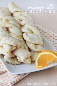 the baker upstairs: orange roll bread twists