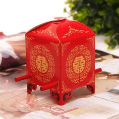 Cheap gift choice, Buy Quality gift box wedding cake directly from China box ring Suppliers: Chinese Asian Style Red Double Happiness Sedan Chair Wedding favor box party gift favor candy box Wedding Candy Boxes, Wedding Gift Bags, Wedding Party Favors, Bridal Shower Favors, Wedding Paper, Wedding Ideas, Wedding Desserts, Wedding Planning, Wedding Inspiration