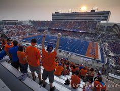 Boise State vs. BYU Cougars Thursday Sept. 20, 2012 at Bronco Stadium in Boise