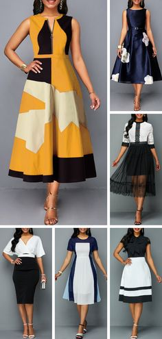 Summer is here and you know what that means… lots of weddings! When you have multiple events to attend within the same season or even the same month it becomes expensive keeping up with new outfits for each. African Print Dresses, African Fashion Dresses, African Dress, Fashion Outfits, Sexy Dresses, Cute Dresses, Beautiful Dresses, African Attire, African Wear