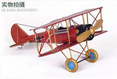 Aircraft model metal ornaments retro home trinkets War German ...