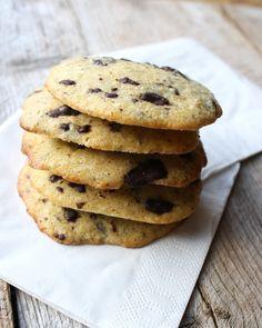 Amerikanske cookies i sunnere variant, sukkerfri, glutenfri og alternativt ...