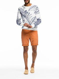 White Embroiderd Sweater