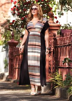 Virtu delilah maxi dress