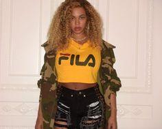 Beyoncé mostra boa forma com visual em show do Kendrick Lamar