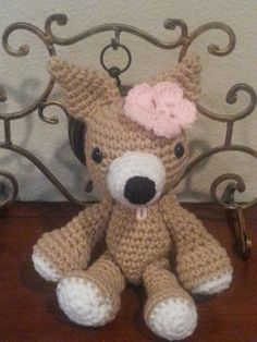 Fun and easy to follow video tutorial for a crochet Chihuahua. Makes a great gift or just to keep. Please hit like, and subscribe, for more of my free croche...